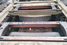 Aluminum Copper Ingot casting with single line of waterholes